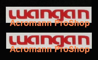 WANGAN Lettering 6inch Decal x 2 pcs